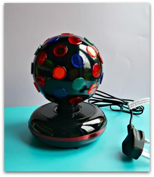 The ProSound Lighting 7-inch Disco Ball from Maplin