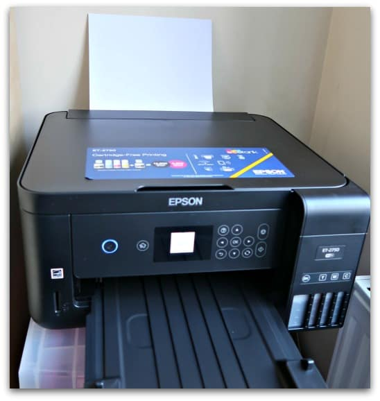 The Epson EcoTank ET-2750 was set up and printing within 20 minutes of getting it out of its box
