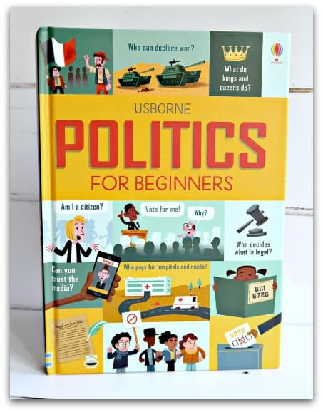 Book Review – Usborne Politics For Beginners