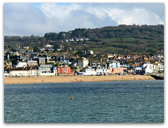 Lyme Regis, a view from The Cobb
