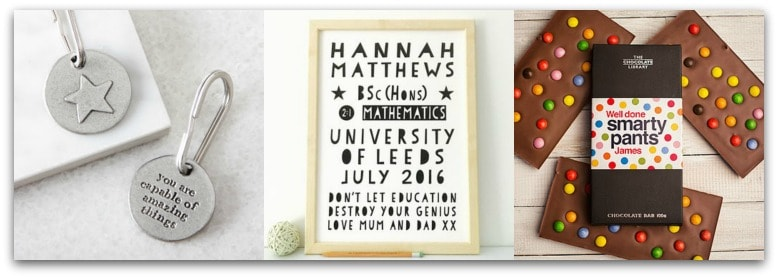 Graduation Gift Ideas from Not On The High Street
