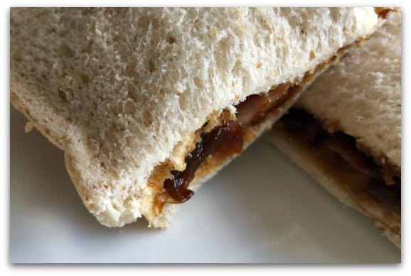 Creating Tastier Picnics with Tracklements - Caramelised Red Onion Relish helps to make the best ever sandwich, brie and bacon