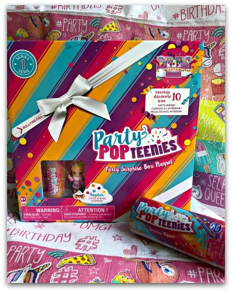 Party Popteenies Party Surprise Box and Surprise Popper