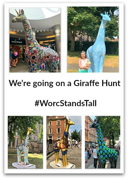We're going on a Giraffe Hunt – #WorcStandsTall