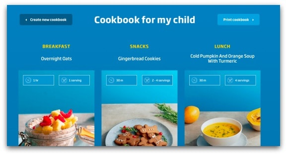 Beko Eat Like A Pro Cookbook for my child