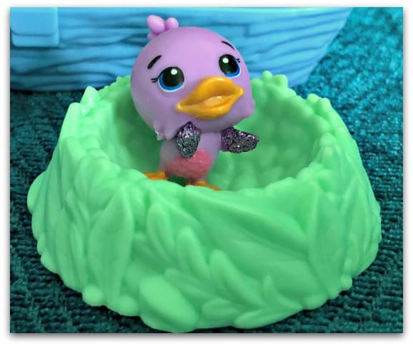 Each tiny Hatchimals CollEGGtible is so cute and has tiny glittery wings