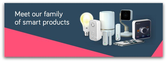 Meet the family of smart products from Hive