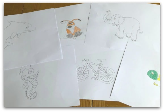 Some of the amazing pictures drawn using the smART Sketcher Projector