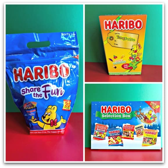 Ideas for Christmas 2018 Sweet Treats from Haribo