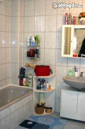 Ez is egy ház fürdőszobája. A kép alapján több mint 3 nm. Zsúfoltsági szint: közepes Pakolási idő: 45 perc