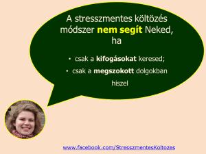 Mikor nem segít a stresszmentes költözés módszer?