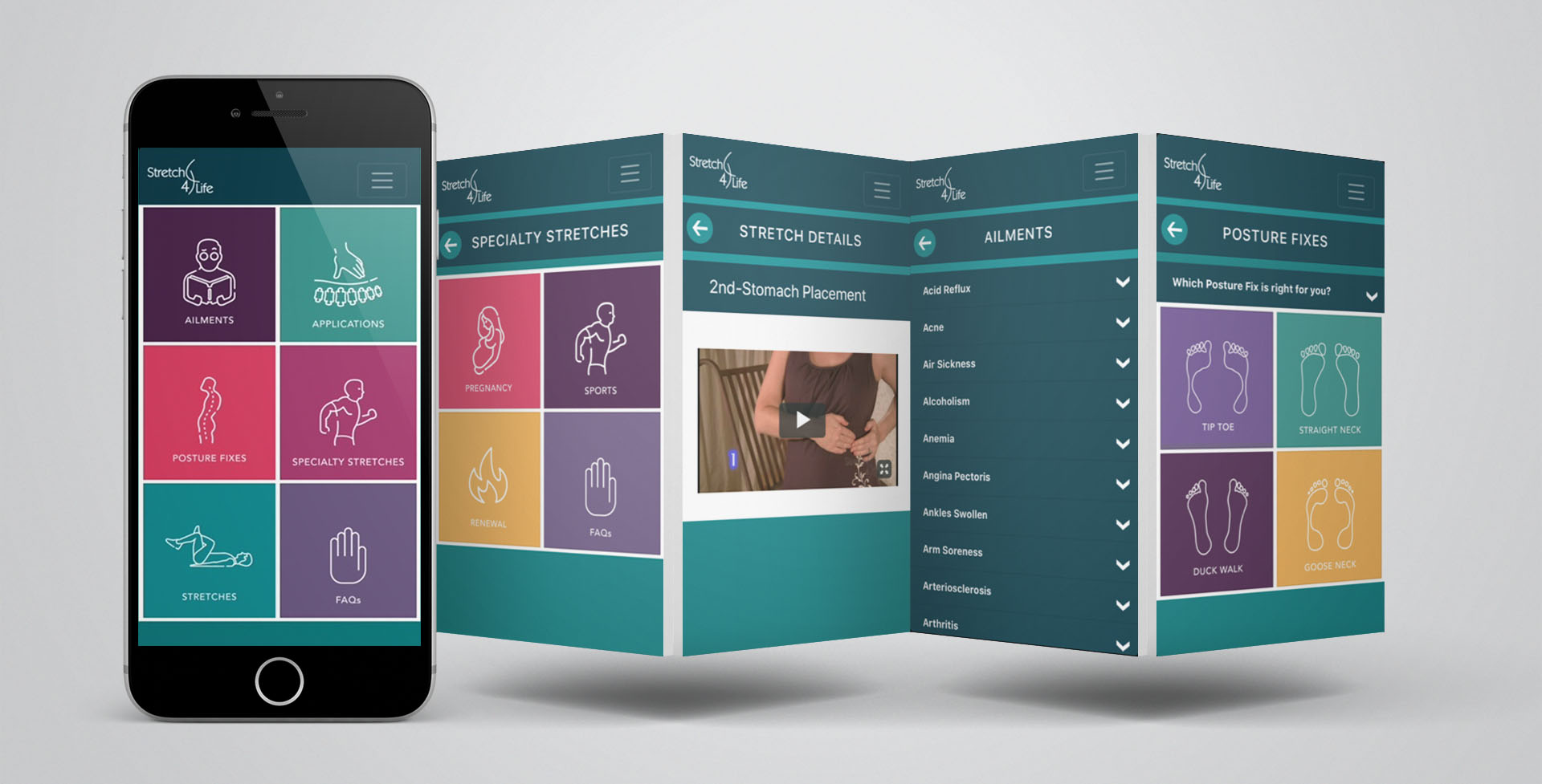 Stretch4Life App