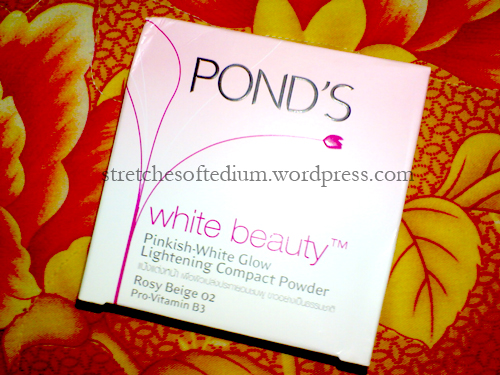Pond's White Beauty Pinkish-White Glow Lightening Compact Powder (1/3)