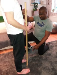 Sport Massage Therapy stance
