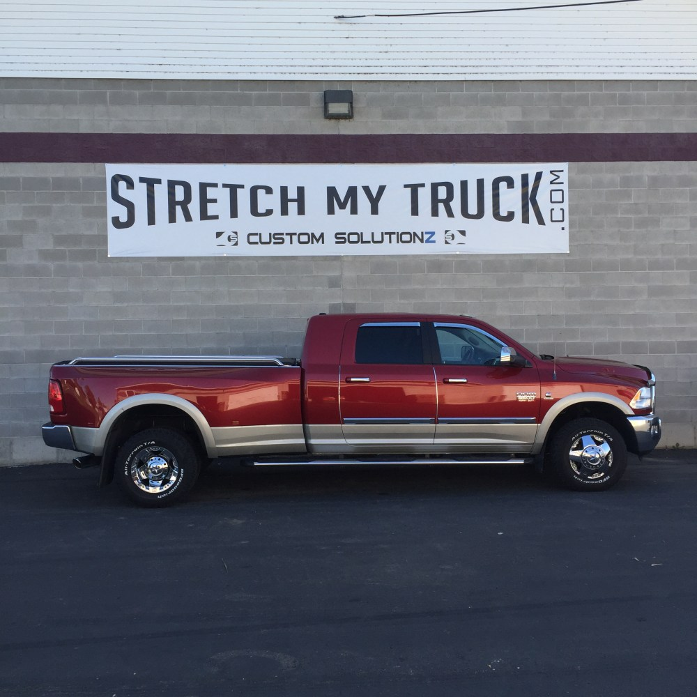 medium resolution of mega cab long bed longbed conversions stretch my truck