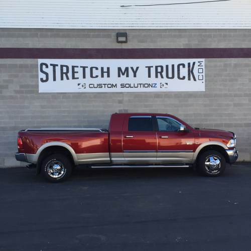 small resolution of mega cab long bed longbed conversions stretch my truck