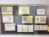 Interactive notice boards