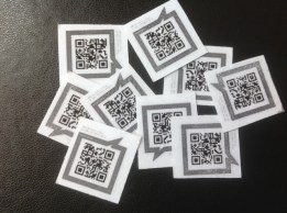 QR codes ready for mini whiteboards