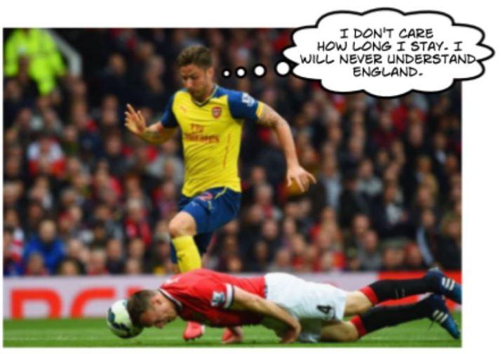 You're never quite sure what Jones and Smalling may do.