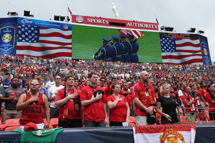 Red Devils and the Red, White, and Blue: Man United's American history