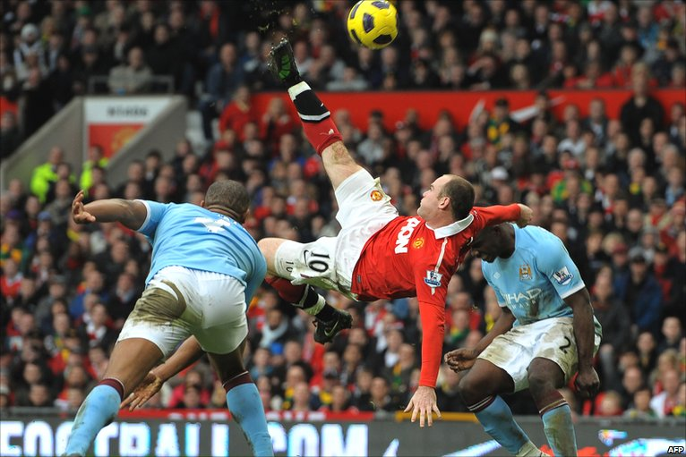Wayne Rooney's top 5 Manchester United goals