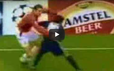 (Watch) 15 years since John O'Shea nutmegged Luis Figo