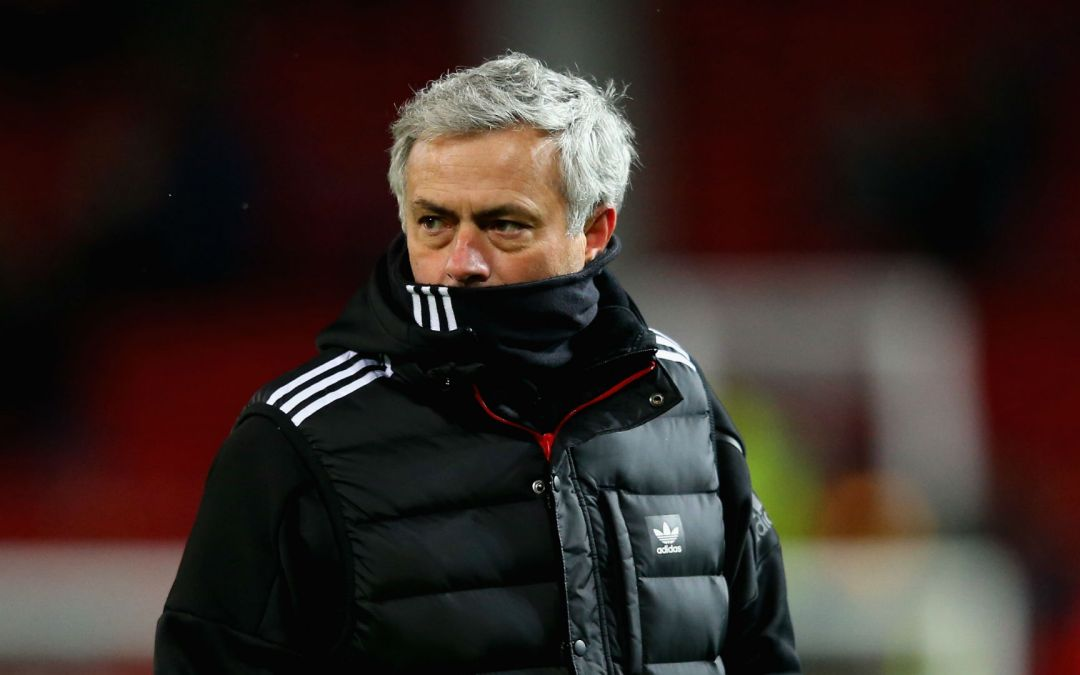 It's time for Jose Mourinho to release the shackles at United