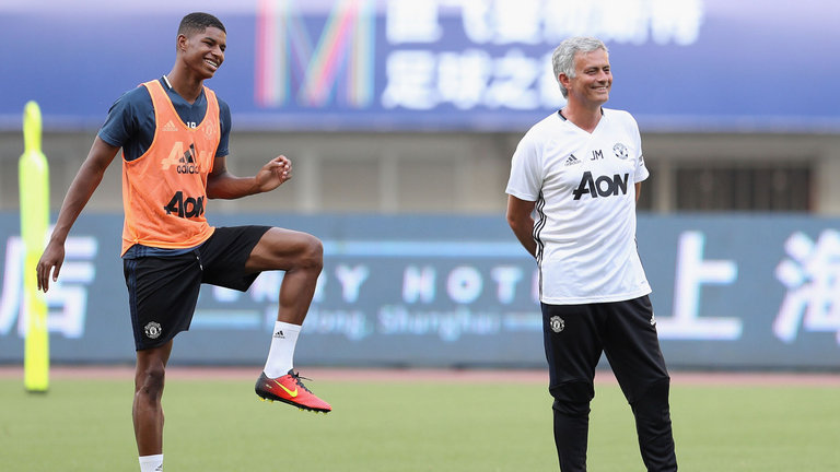 Jose Mourinho: Nothing I can do to change Rashford and Martial's playing time