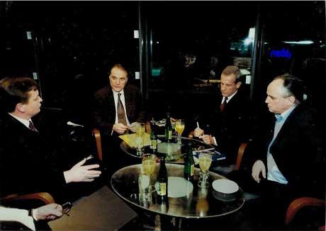 """ORF: Diskussion """"zur Sache"""" im Haas-Haus."""
