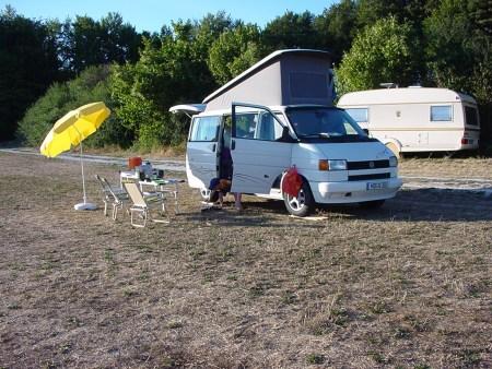 Camping - der Anfang mit VW T4