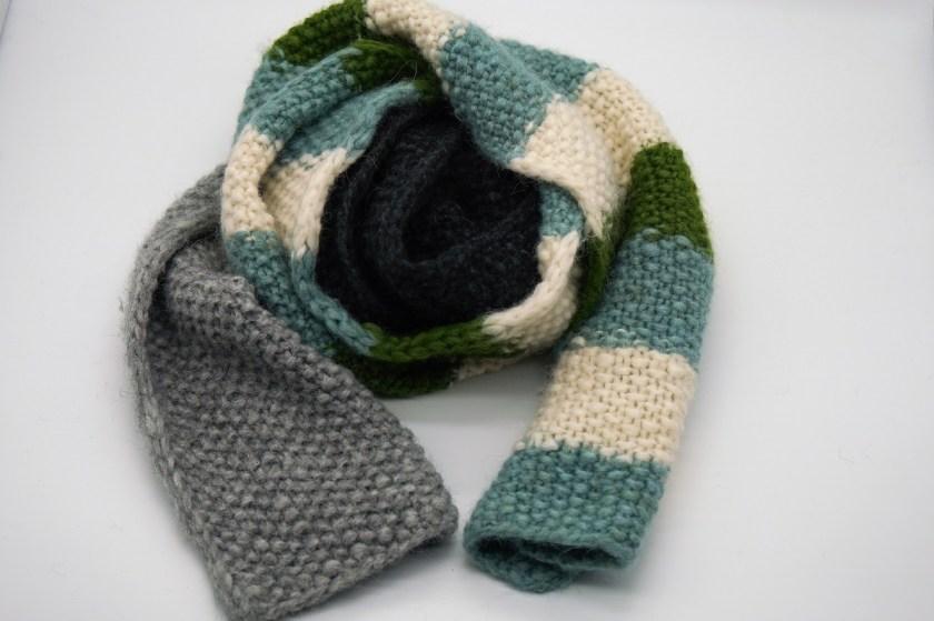 Ein Schal fürs Leben handgestrickt von strickabenteuer.de