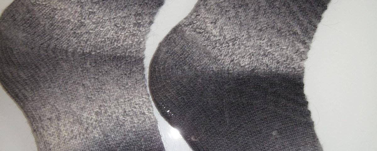 handgestickte Socken strickabenteuer.de Meine Rückkehr