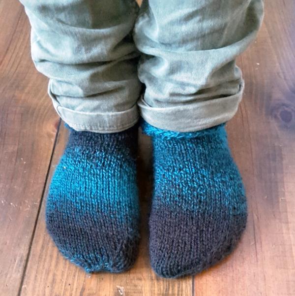 Gemütliche Socken stricken