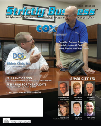 Cox Products Lifeline for Dialysis Clinic Inc in Omaha NE  Strictly Business  Omaha