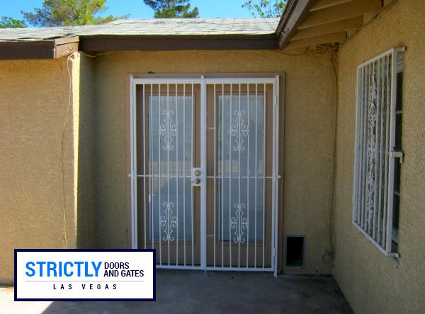 Las Vegas Double Security Doors  French Doors Company