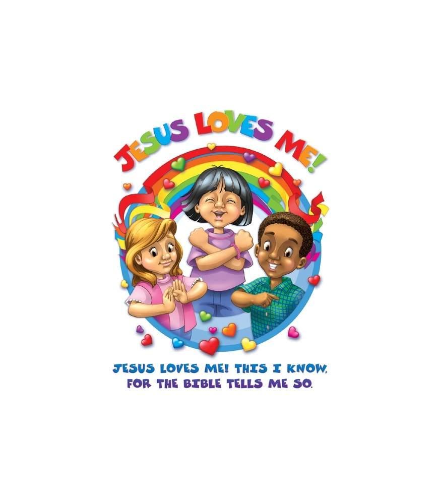 Jesus Loves Me Chart - Sign Language