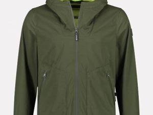 Hooded Jacket Soft Shell bi color