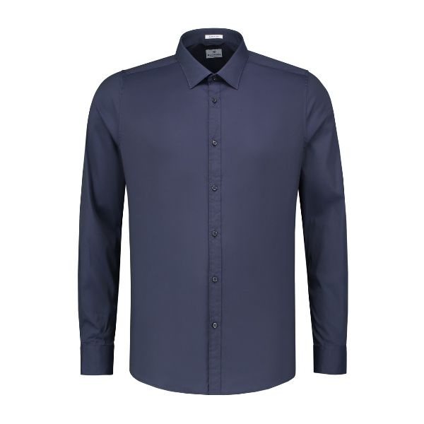 Shirt regular collar Italian Stretch Poplin