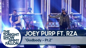 "Joey Purp Joins Wu-Tang's Rza To Perform ""Godbody Pt.2"" @ The Tonight Show"