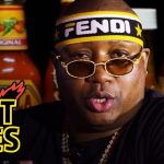 """E-40 Eats Some Spicy Wings On Special """"Hot Ones"""" At ComplexCon"""