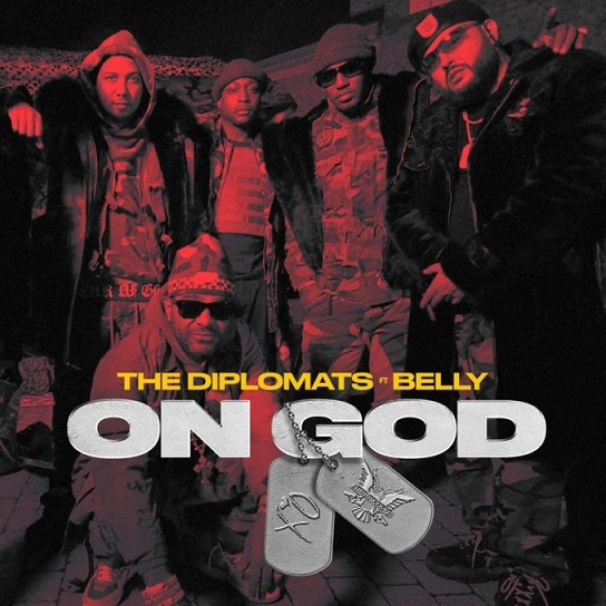 """The Diplomats Link Up With Belly For New Song """"On God"""""""
