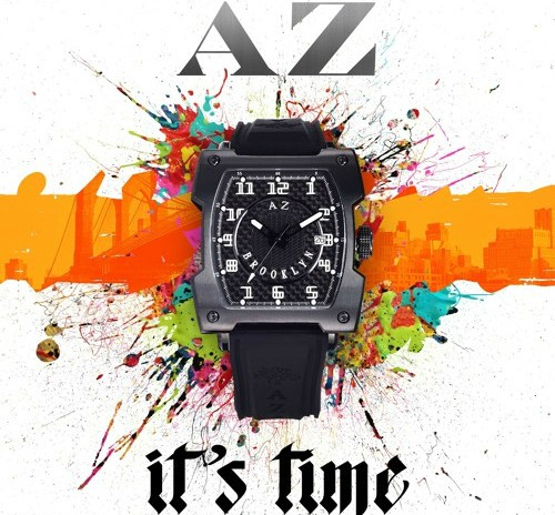 "AZ Takes On Classic Kool G Rap Song For ""It's Time"""