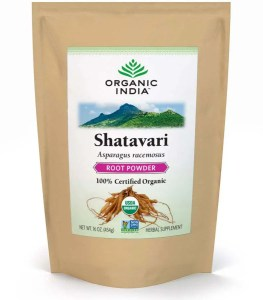 Shatavari (Asparagus racemosus) roots, powdered, by the pound, Organic