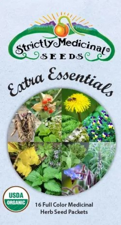 Extra Essentials Medicinal Herb Seed Collection