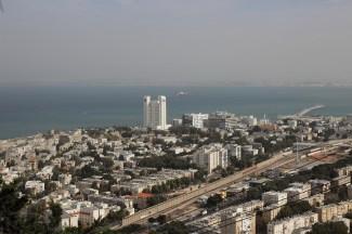 Haifa coastline
