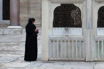 Mosque patio