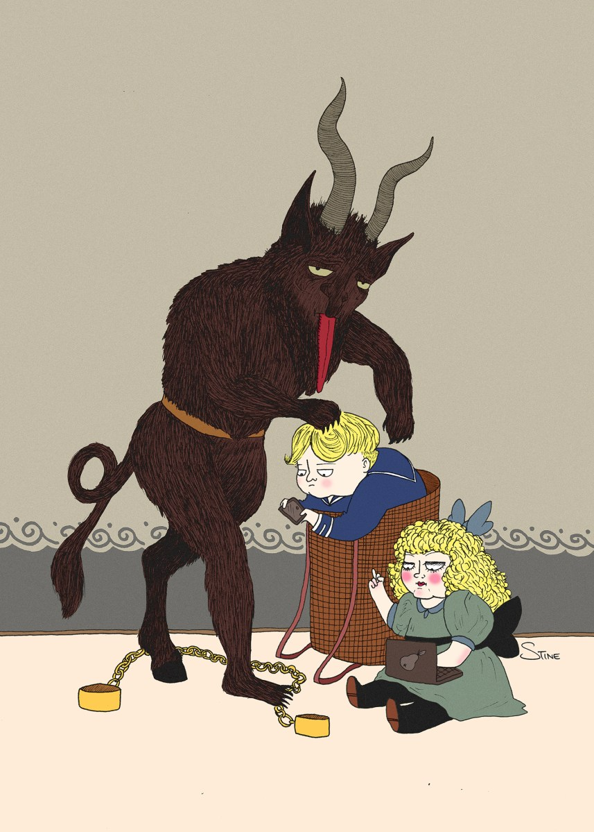 Tis The Season For Krampus Strictly Stine