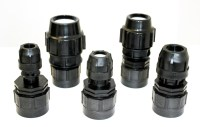 IBC Adapter Fitting MDPE Water Pipe Compression 20mm 25mm ...