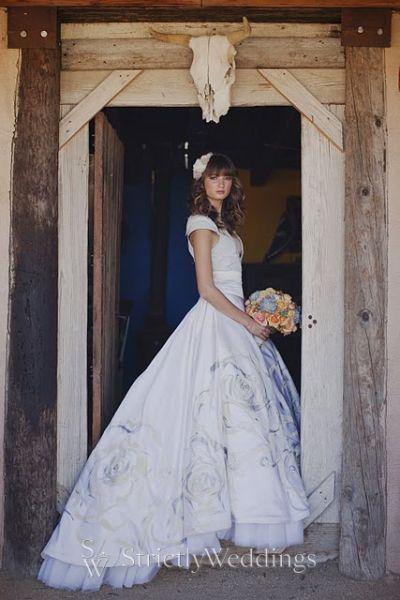 Spanish Inspired Wedding Dress
