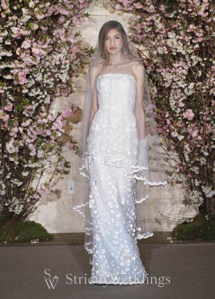 Couture Bridal Gowns Oscar De La Renta